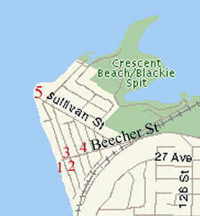 Map of Crescent Stores