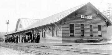 White Rock Station 1914
