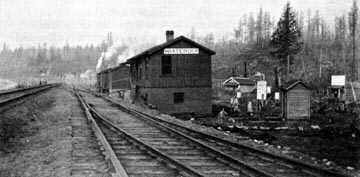White Rock Station 1909