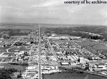 Cloverdale in the 1950s