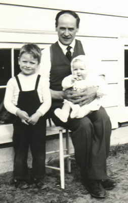 John, Sandford and baby Diane