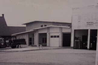 first two fire halls in Newton