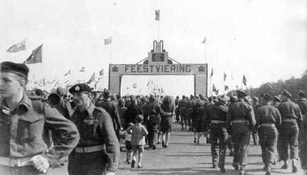 2nd Canadian Infantry Division Feestviering