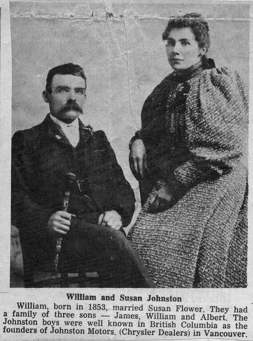 William and Susan Johnston