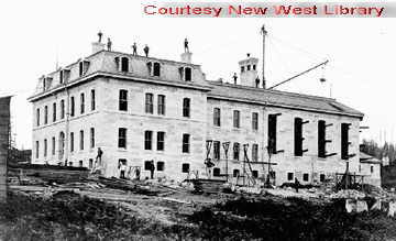 New Westminster Jail- 1860 - 1885