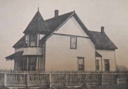 Early Collishaw home