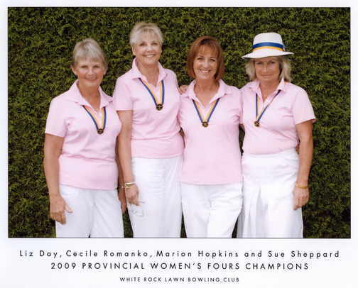 2009 Provincial Champions Ladies Fours