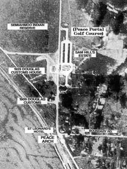 Aerial photo was taken in 1930