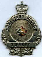 Auxiliary Police Badge