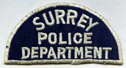 Surrey Police Badge