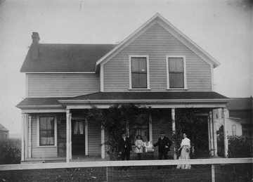 First Parr family home in Cloverdale