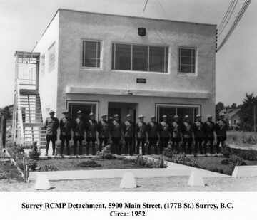 1952 RCMP office