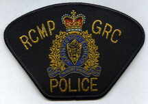 RCMP Police badge