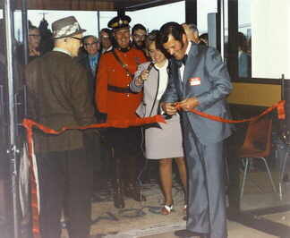 Official opening 1973