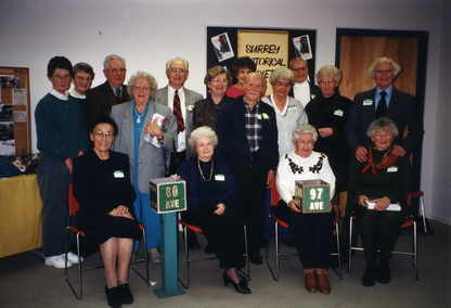 Members of the Surrey Historical Society