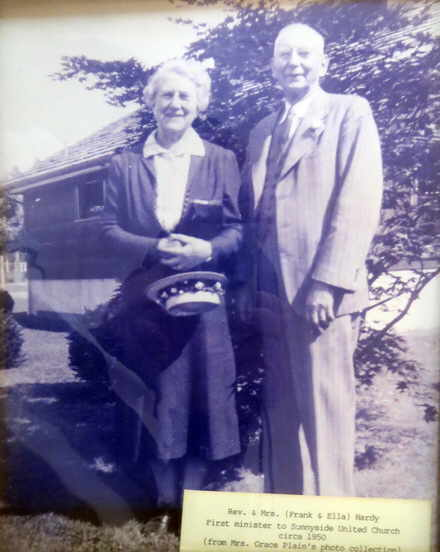 Rev. Frank Hardy and his wife Ella.