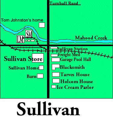 Map of Sullivan