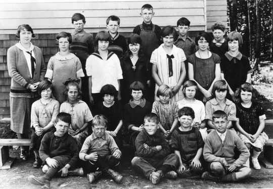 Woodward's Hill School Class of 1926