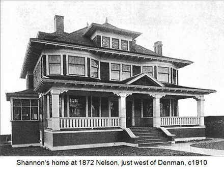 Shannon home Nelson and Denman