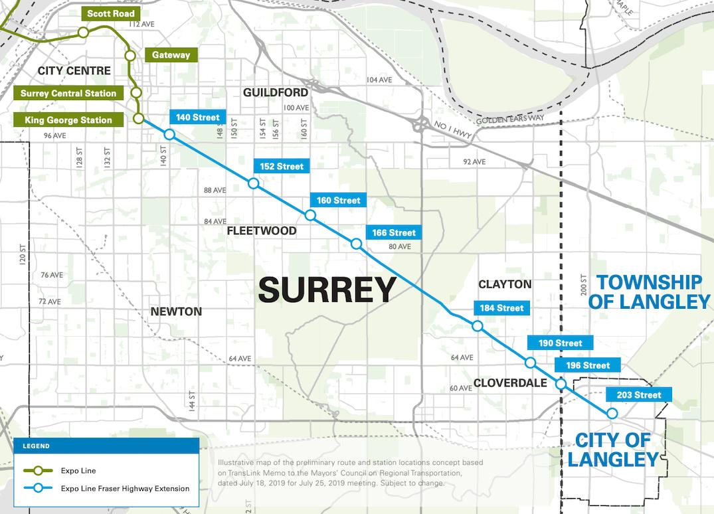 Skytrain Extension Plan